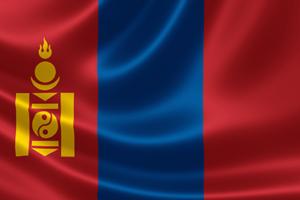 flag mongolia